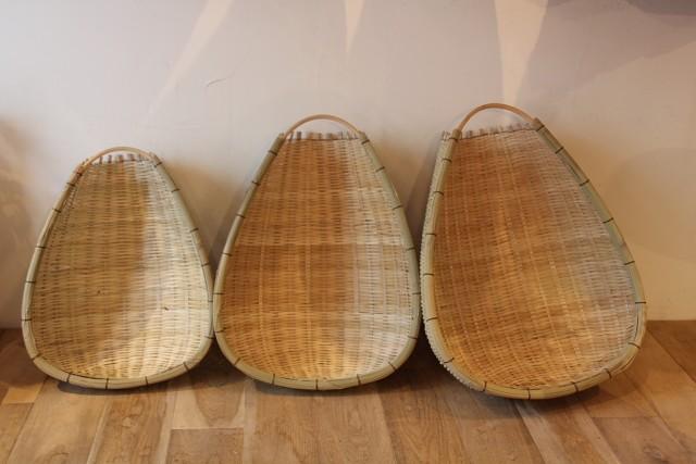 竹の片口ざる