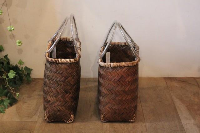 竹の手さげカゴ