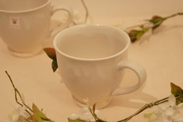 美濃焼 白さつまマグカップ