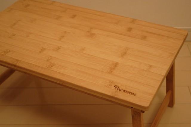 竹折りたたみテーブル