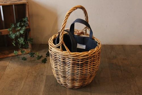 かごのインバッグにも使える帆布トートバッグ