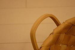スライスウッド 角型手付きバスケット