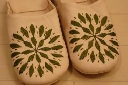 バブーシュ 刺繍