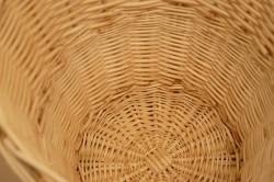 柳 丸型ランドリーバスケット