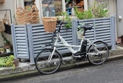 柳 自転車カゴ
