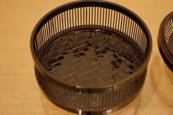塗竹 菓子器