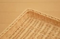 ラタン角形トレーバスケット