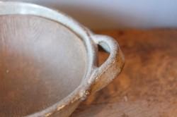 すり粉木付きの万古焼片口すり鉢