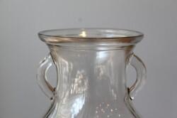 クリアガラスのフラワーベース