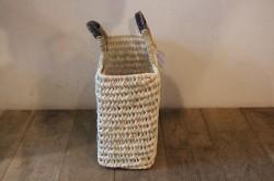 椰子で編んだ角型マルシェかごバッグ