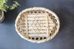 真竹の六つ目高台椀かご