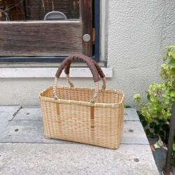 竹の手提げかごバッグ