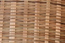 大きめの竹の米揚げざる