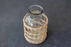 皮なし柳のメディシンボトル型フラワーベース