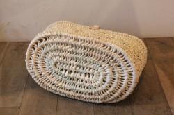 椰子のワンハンドルバスケット
