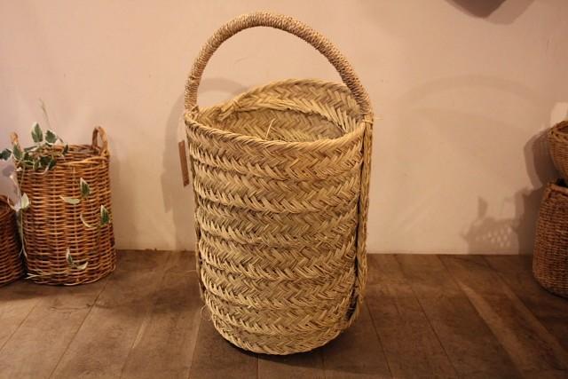 水草 モロッコ バスケット