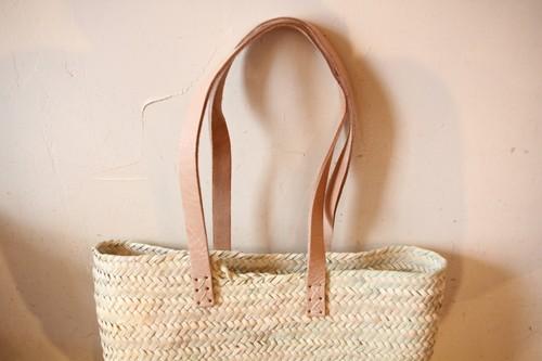 椰子のトートかごバッグ