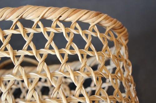 大分県別府の国産六つ目竹かご