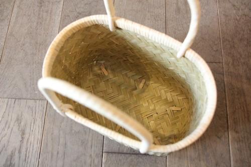 青竹のかごバッグ