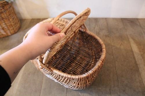 天然柳素材のピクニックバスケット