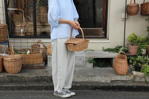 柳の山型ピクニックバスケット