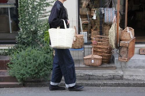 ヤシのマルシェかごバッグ