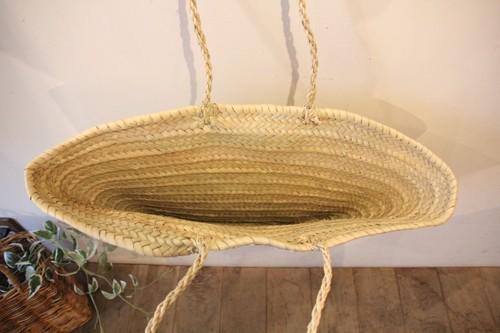 椰子のビッグサイズマルシェかごバッグ