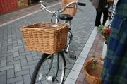 紅籐 自転車バスケット