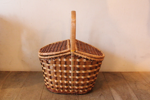 芒草(ボウ草) ピクニック バスケット