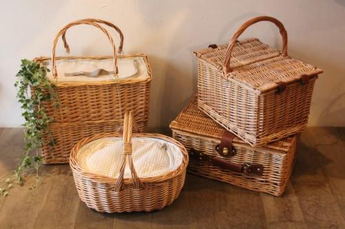 柳の保冷保温ピクニックバスケット